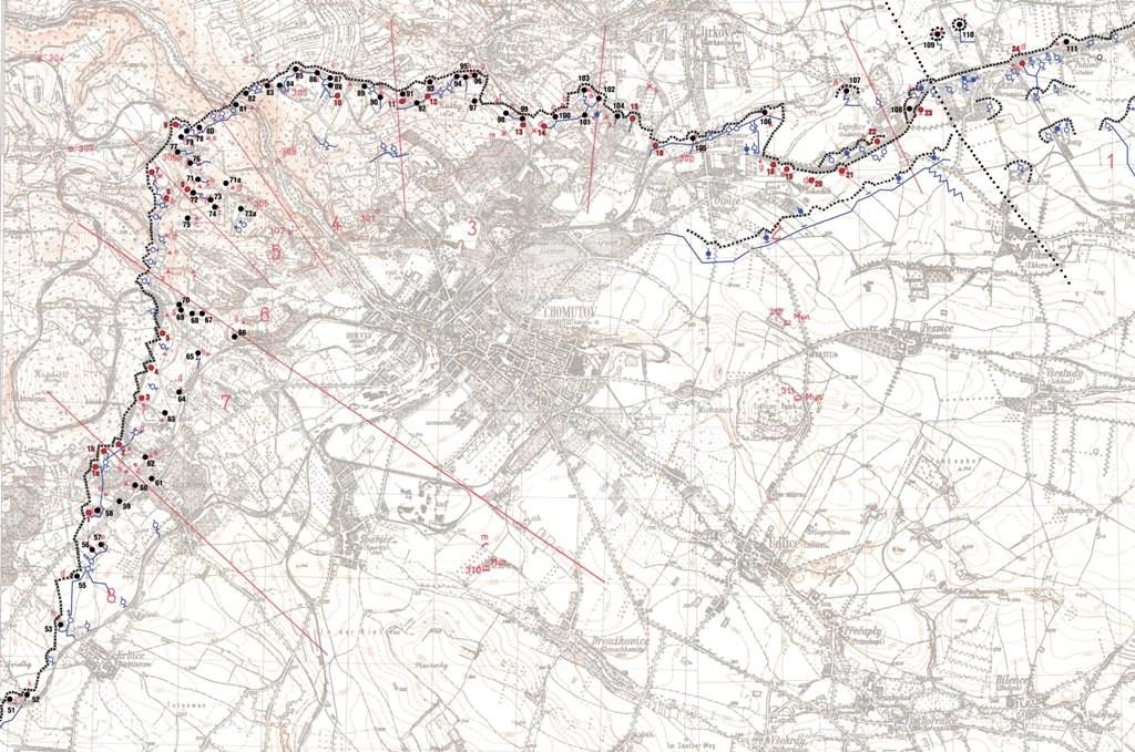 Mapa linie